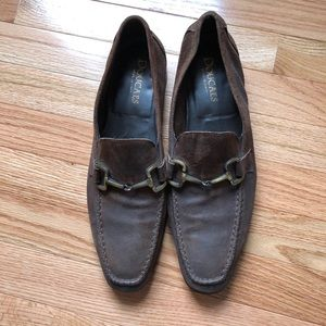 [Doucals] men's leather loafers